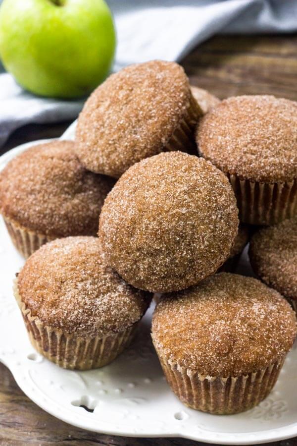 9 Apple Sauce Muffins