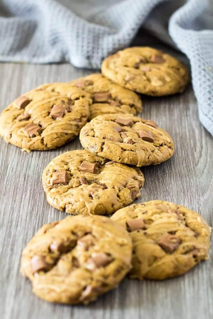 9 Chocolate Chip Coffee Cookies