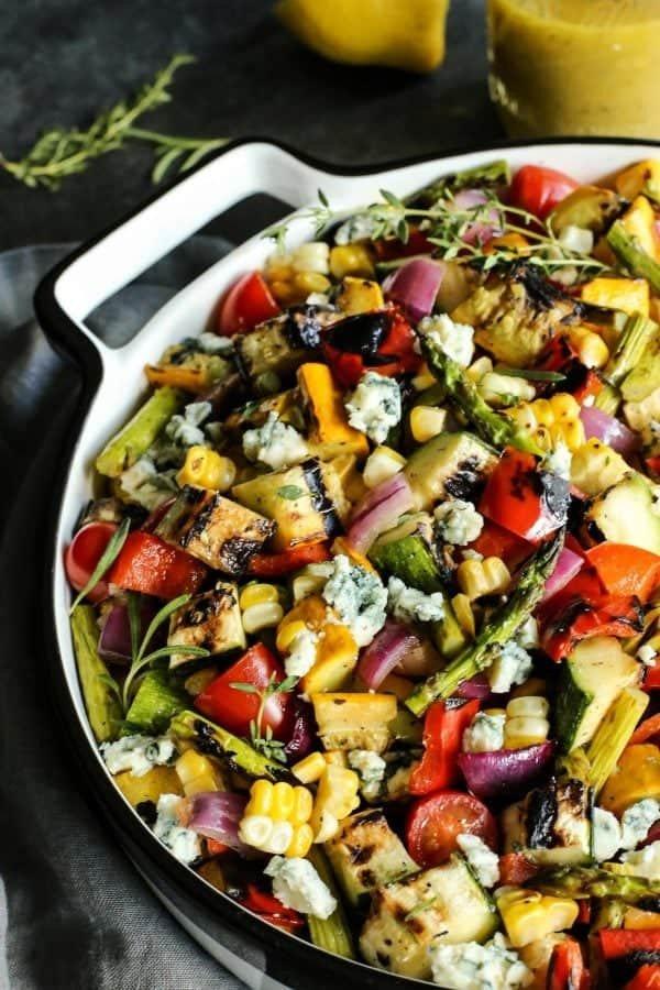 9 Grilled Vegetable Salad