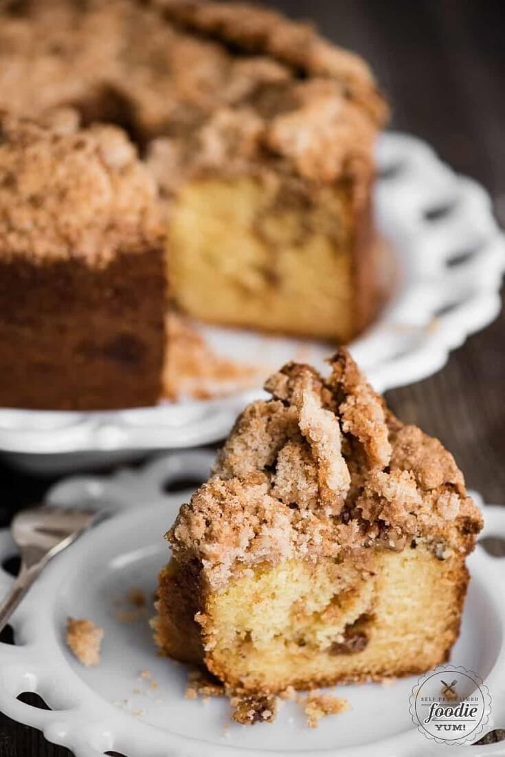 9 Sour Cream Coffee Cake