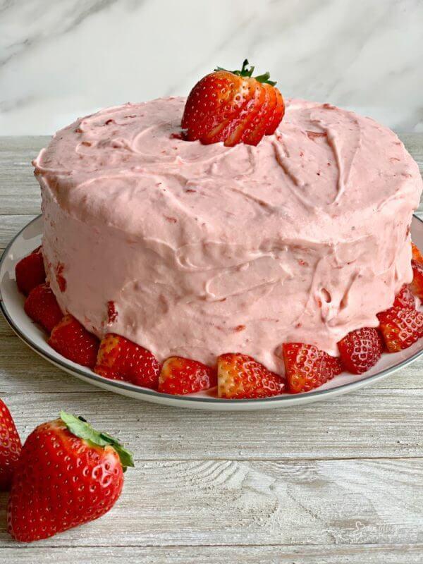 9 Strawberry Cheesecake