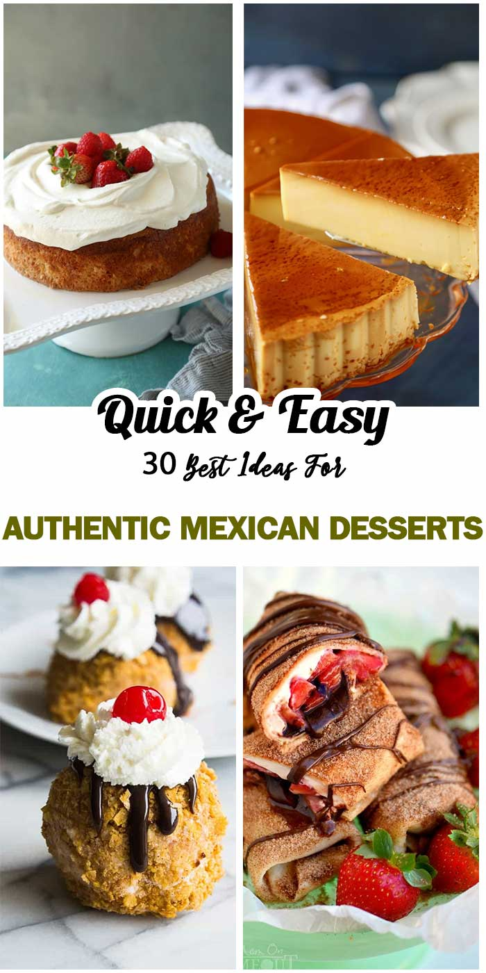 Authentic Mexican Desserts
