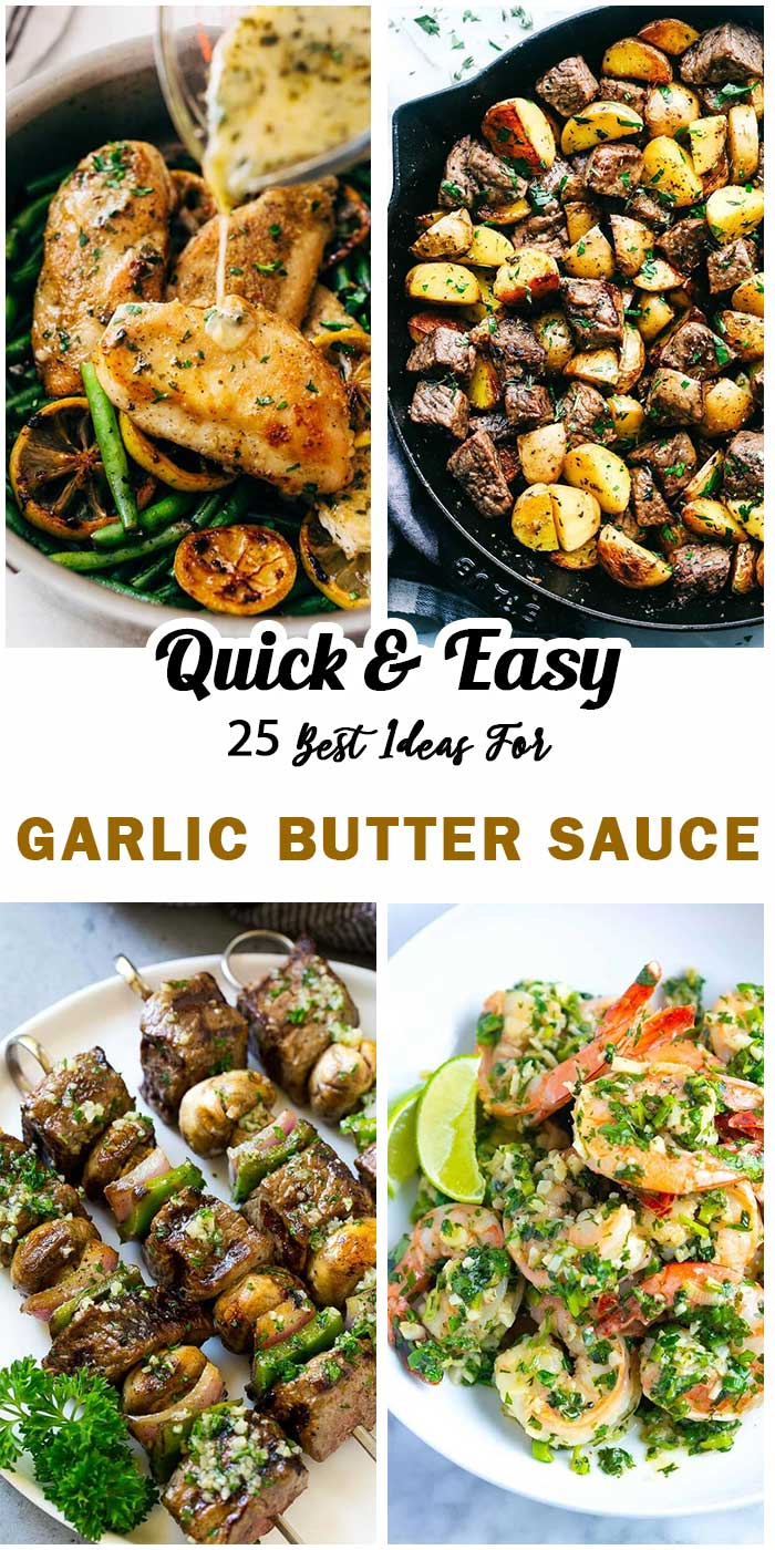 Best Dishes With Garlic Butter Sauce