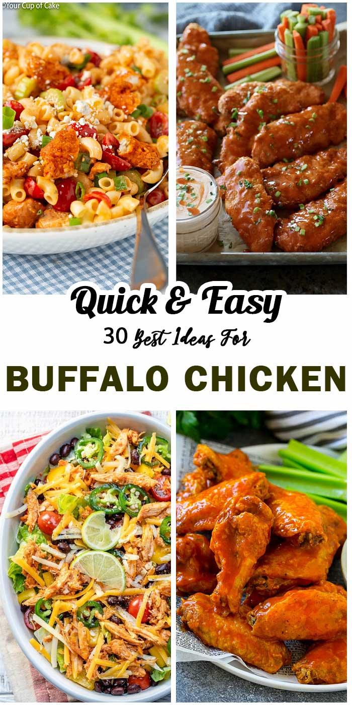 Buffalo Chicken To Vary Family Meals
