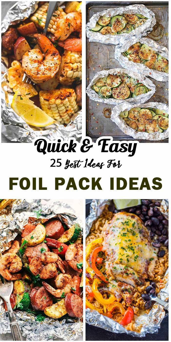 Foil Pack Ideas For Summer Dinner