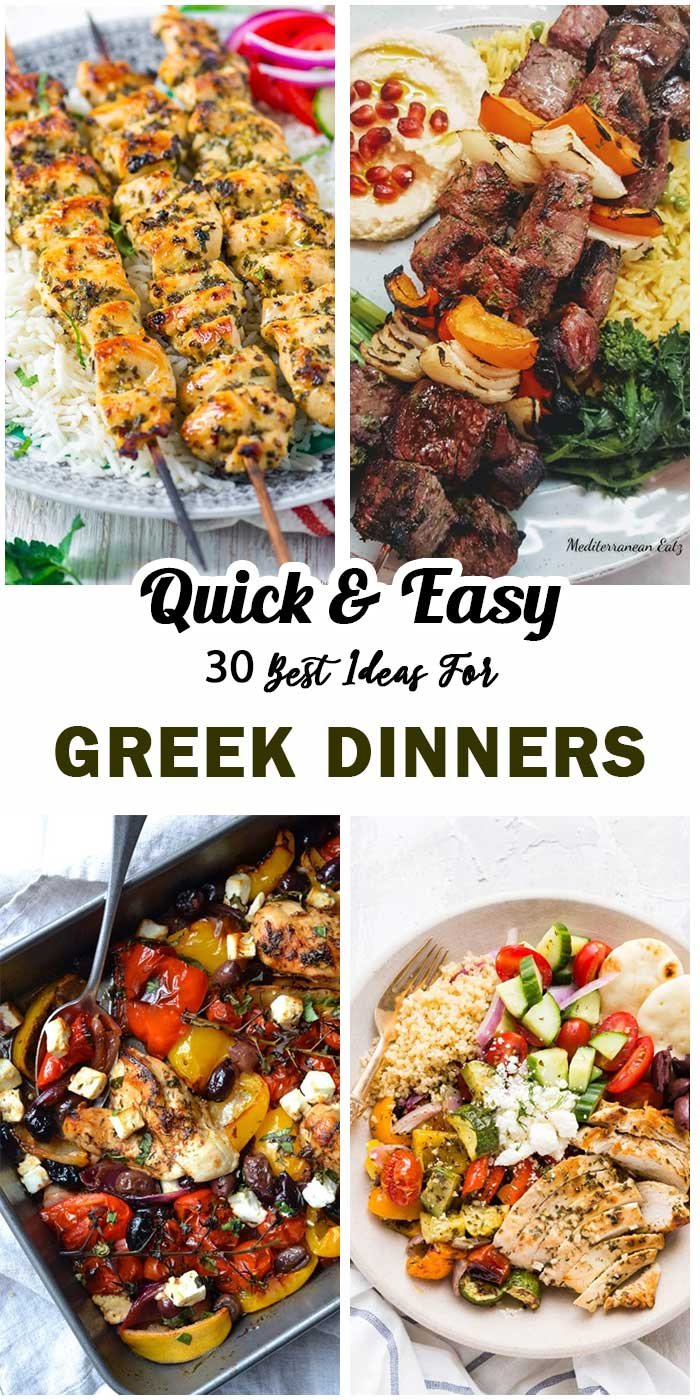 Greek Dinners For Those Who Prefer Different Meals