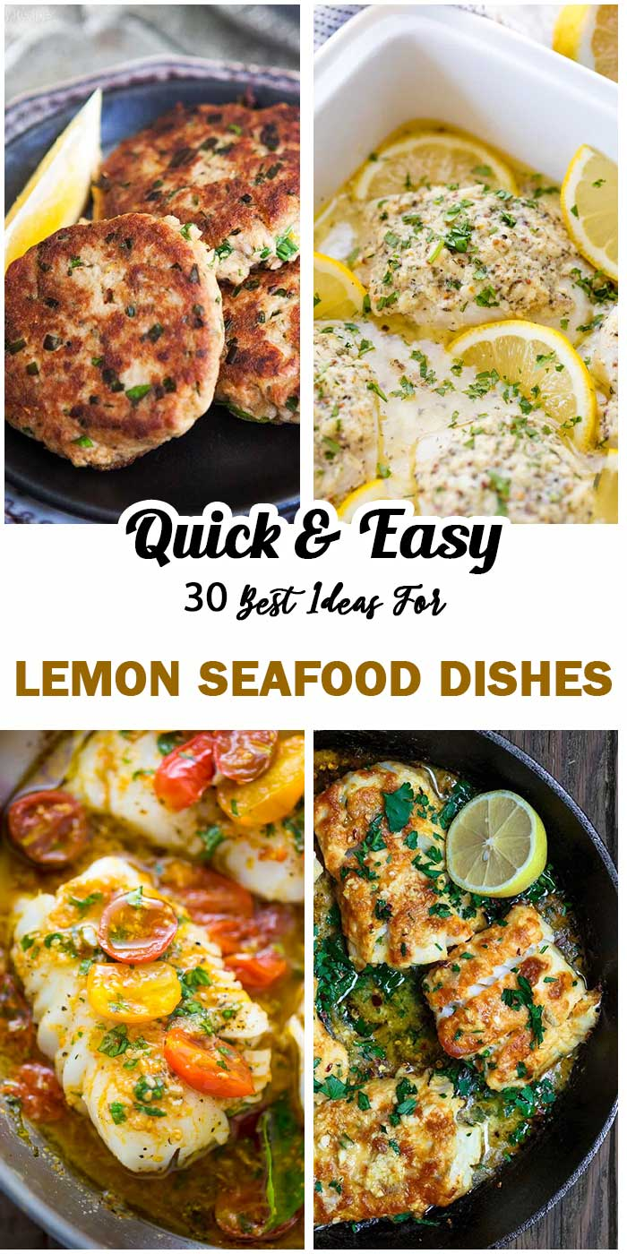 Lemon Seafood Dishes You Should Try