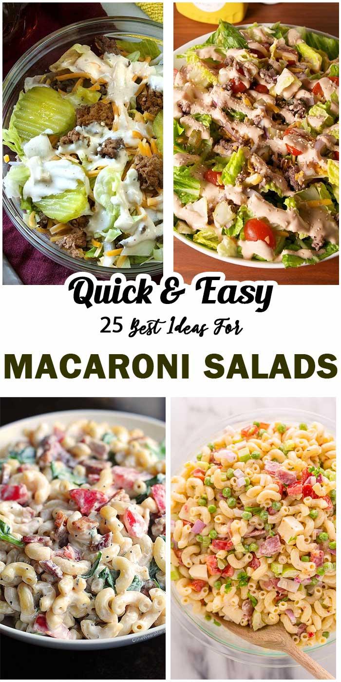 Macaroni Salads For All Year