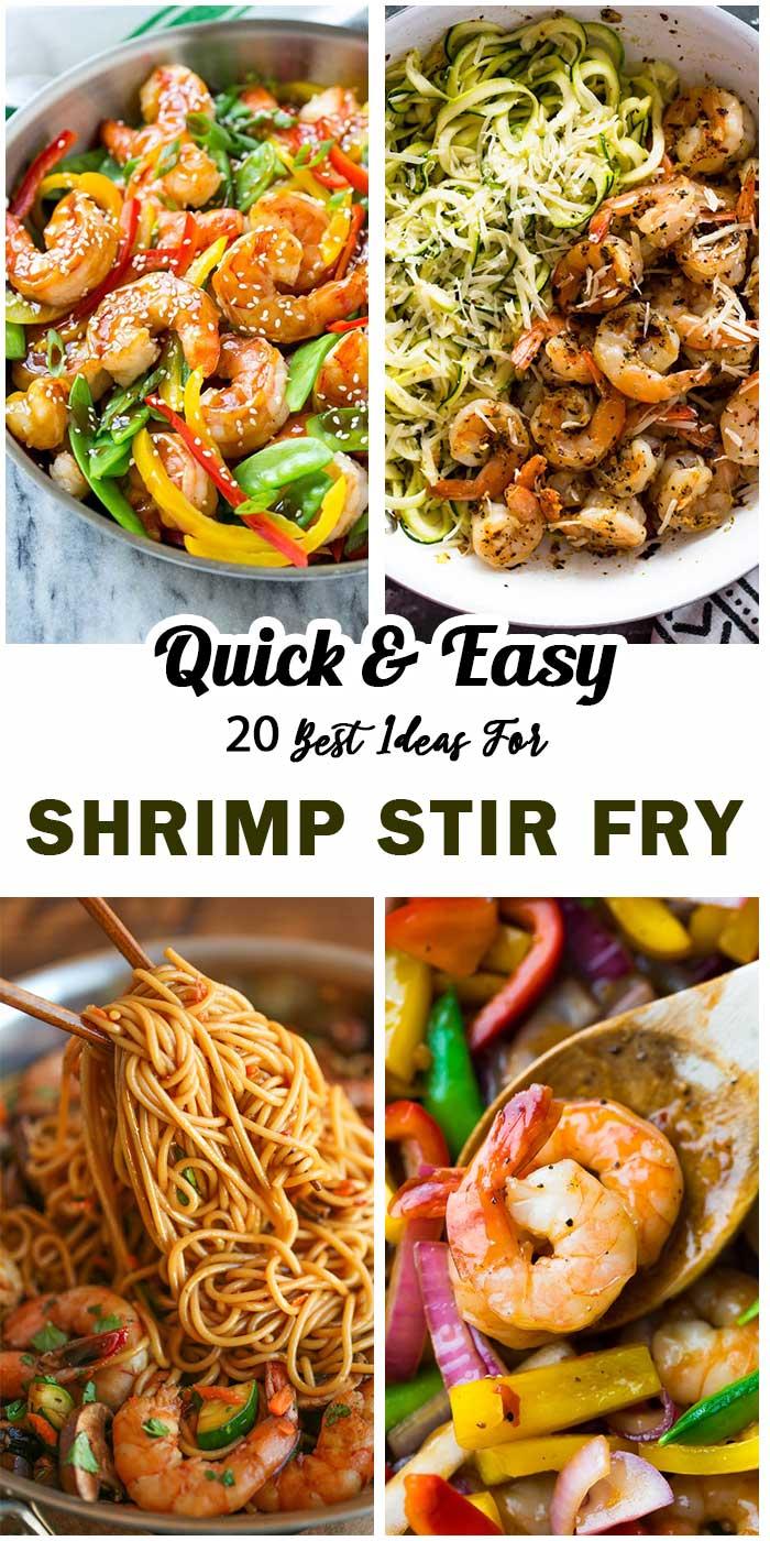 Shrimp Stir Fry: Tasty and Simple To Make