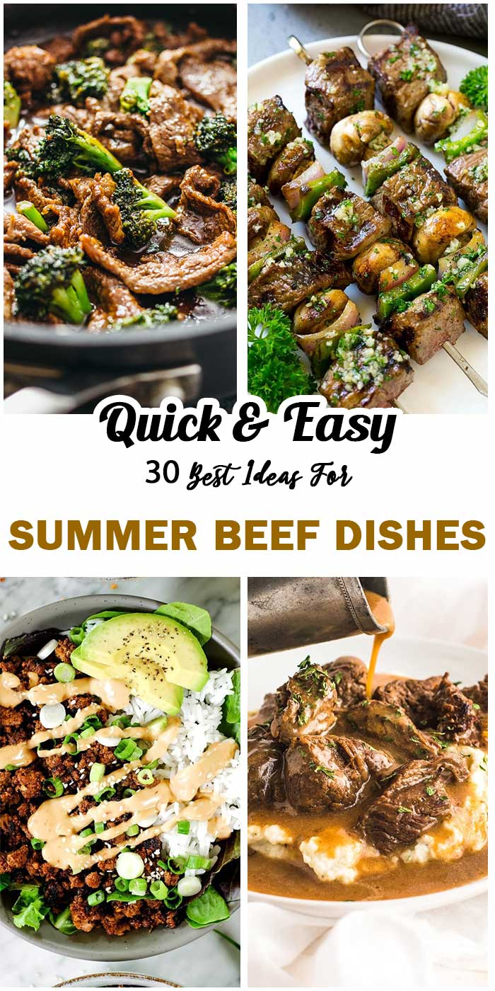 Summer Beef Dishes You Should Try