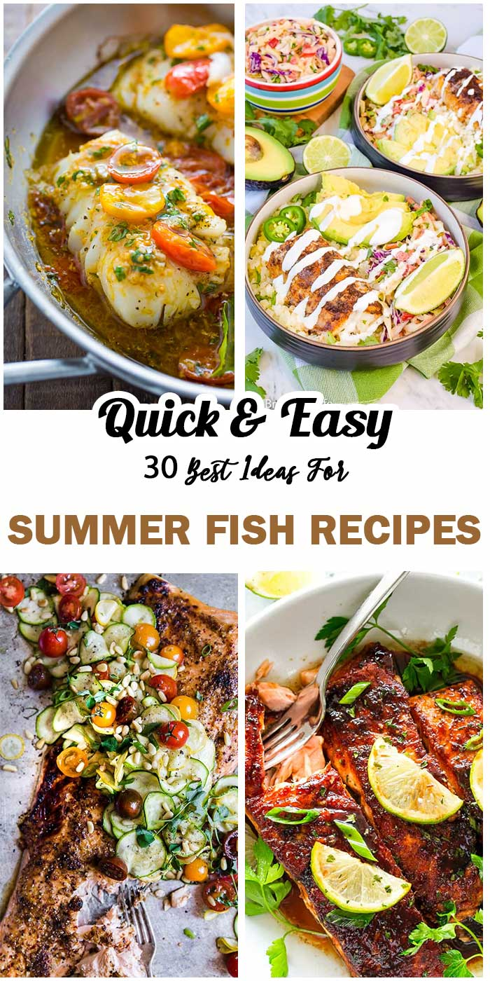 Summer Fish Recipes To Vary Your Meals