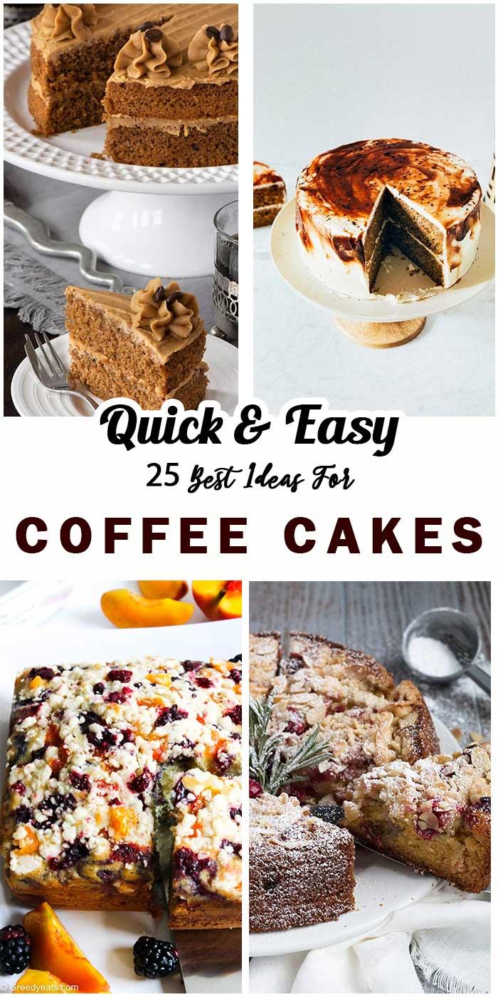 """25 """"Addictive"""" Coffee Cakes"""