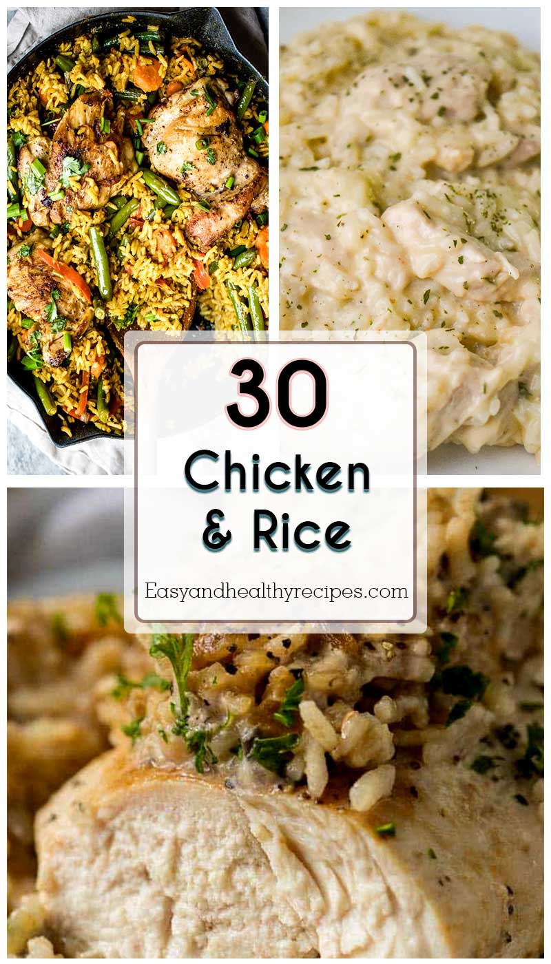 Chicken And Rice For Any Time Of The Year