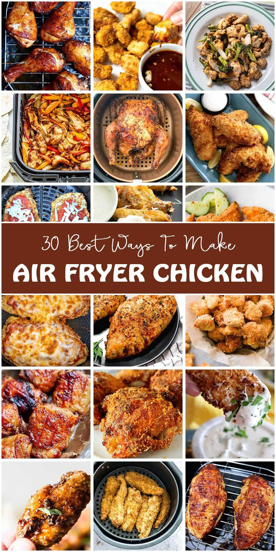 25 Air Fryer Chicken Dishes You Should Never Miss