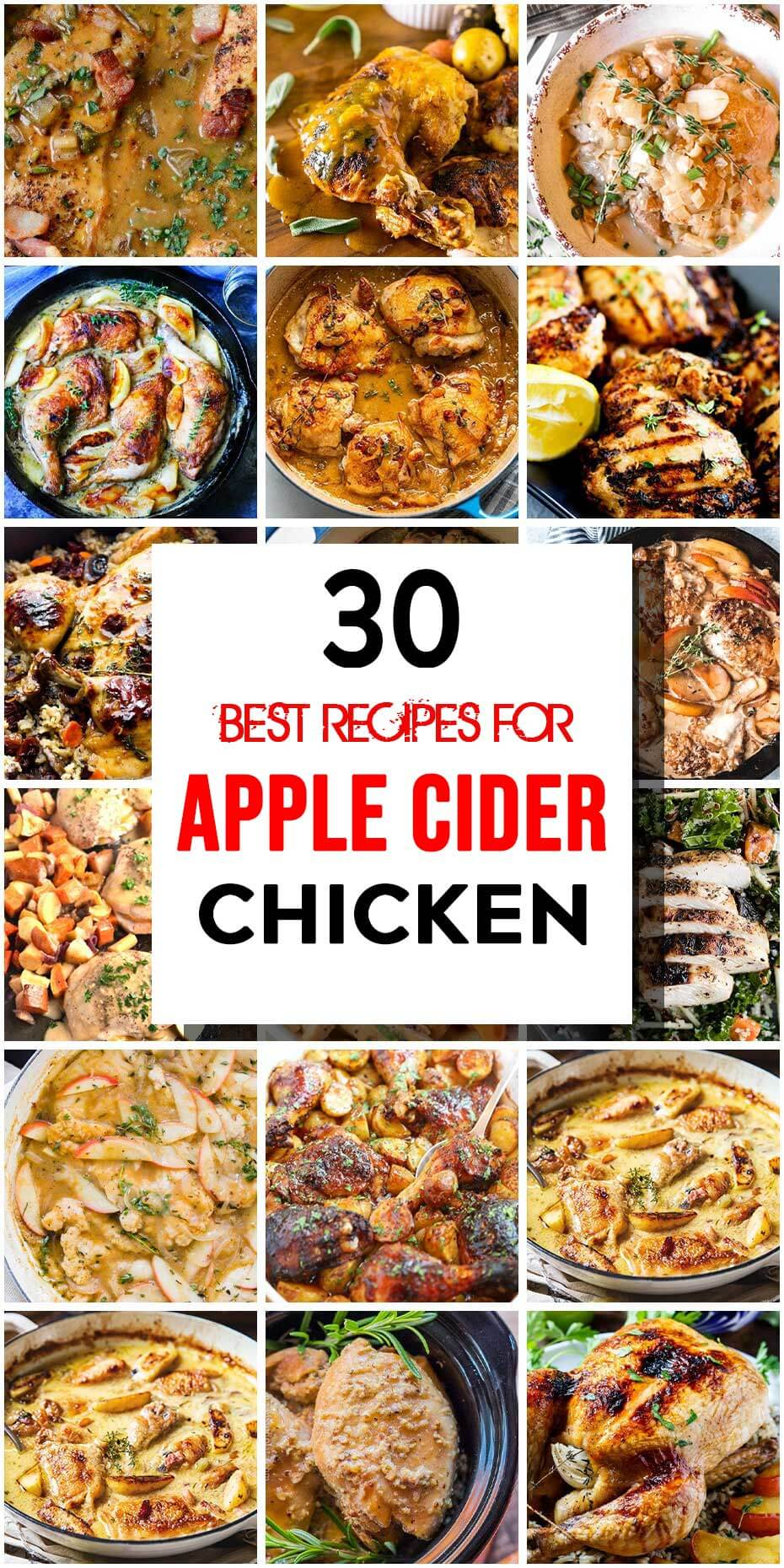 30 Apple Cider Chicken Dishes That Are Crazy Good