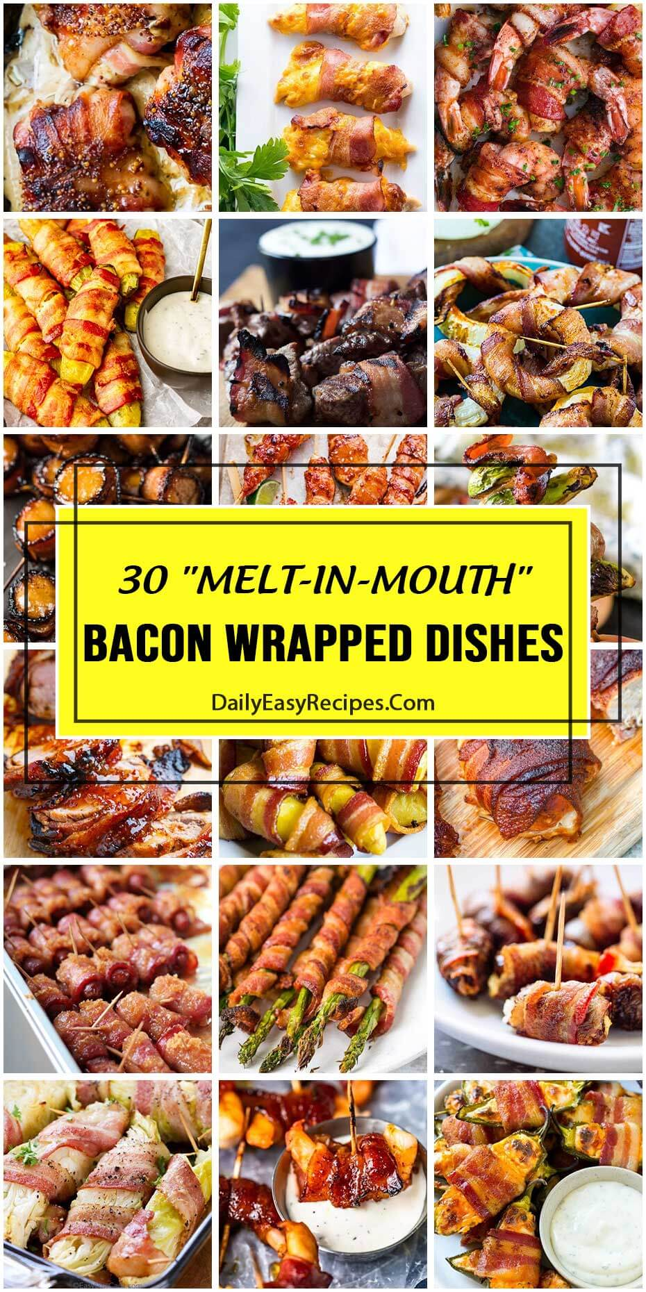 30 Bacon-Wrapped Dishes That're Gonna Melt In Your Mouth
