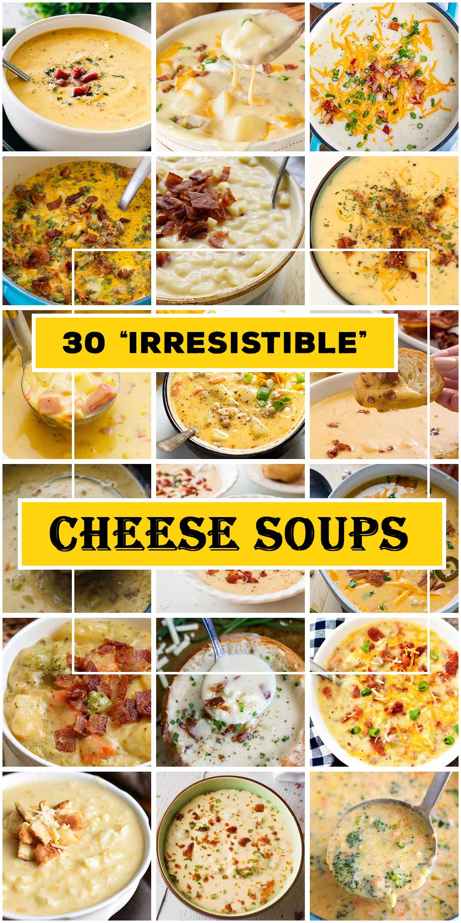 30 Best Cheese Soups To Tease Your Taste Buds