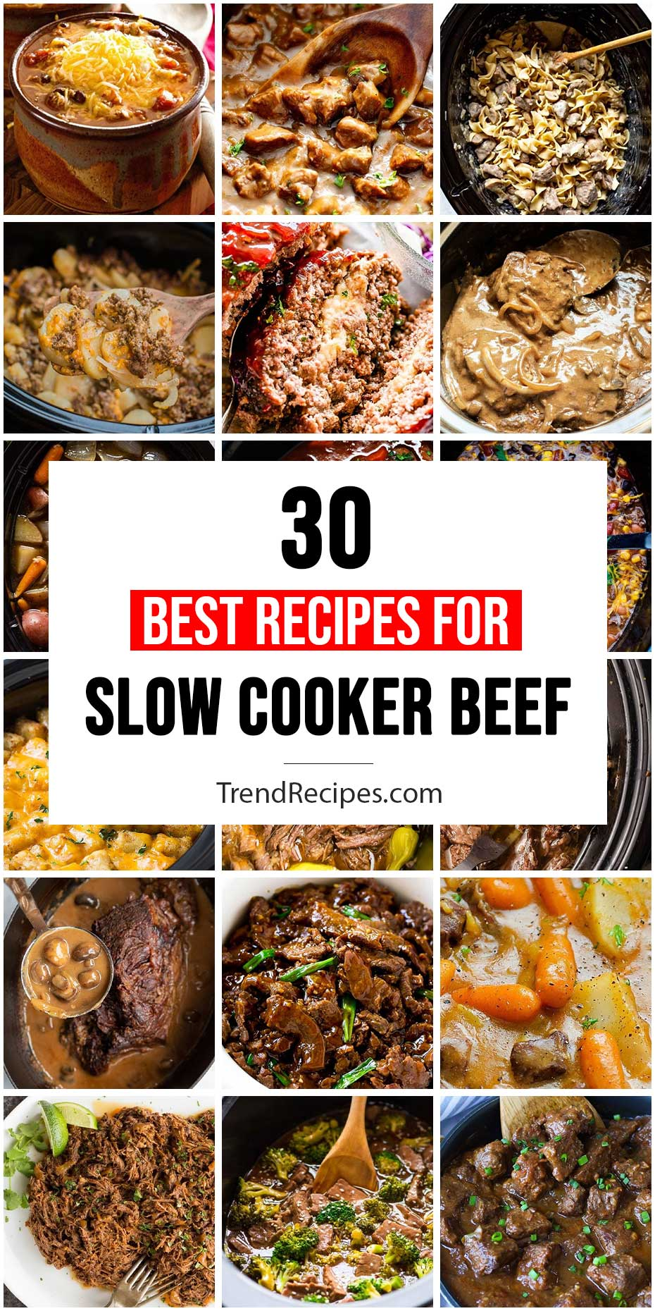 30 Best Slow Cooker Beef Dishes For Dinner