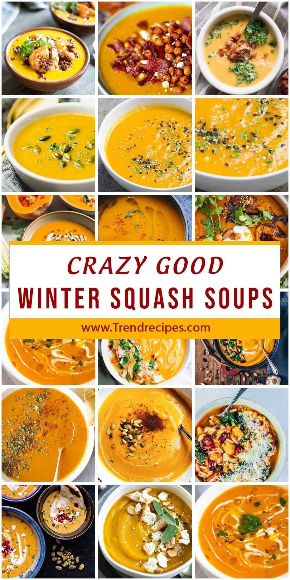 30 Crazy Good Soups Made With Winter Squash