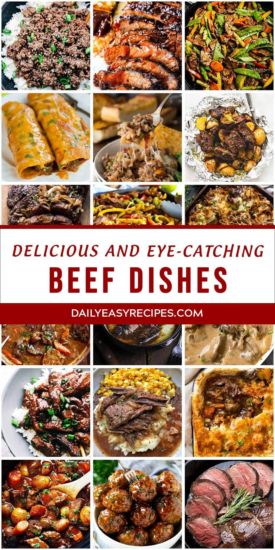 30 Delicious and Eye-Catching Beef Dishes