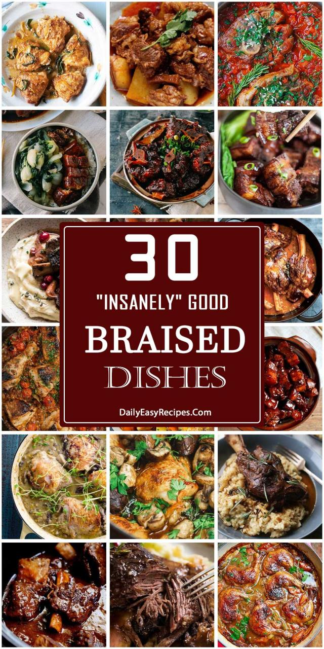 30 Insanely Good Braised Dishes