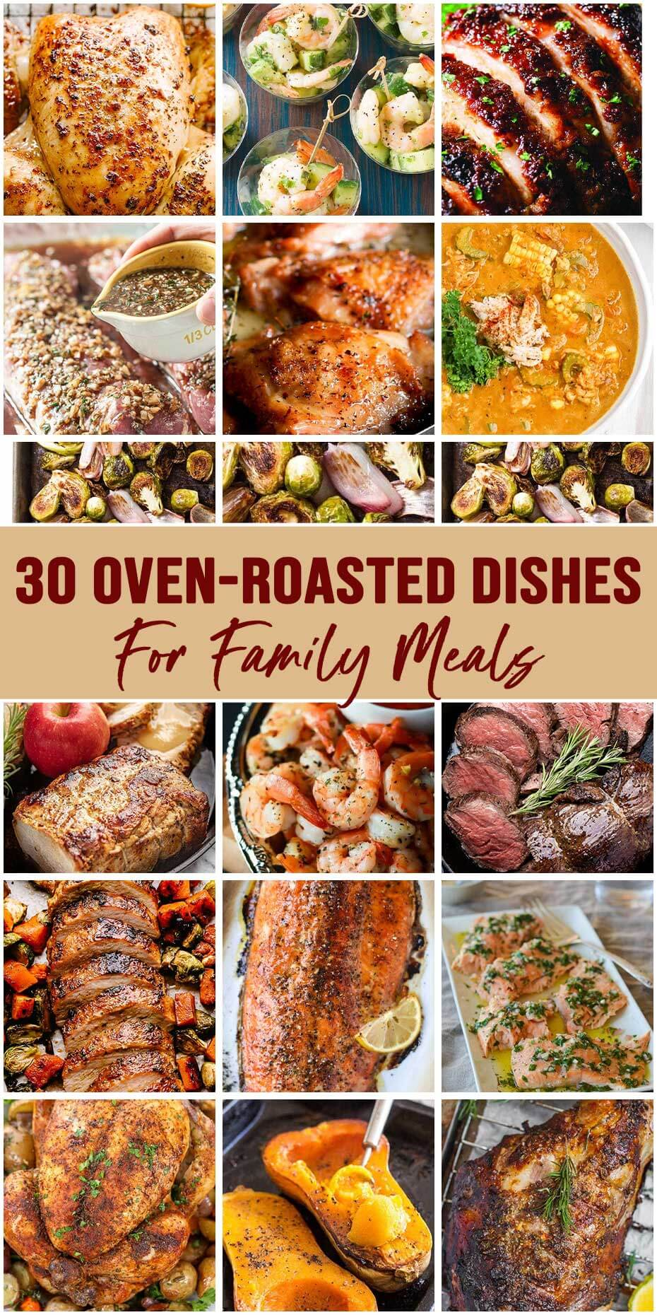 30 Oven-Roasted Dishes That You Can't Resist