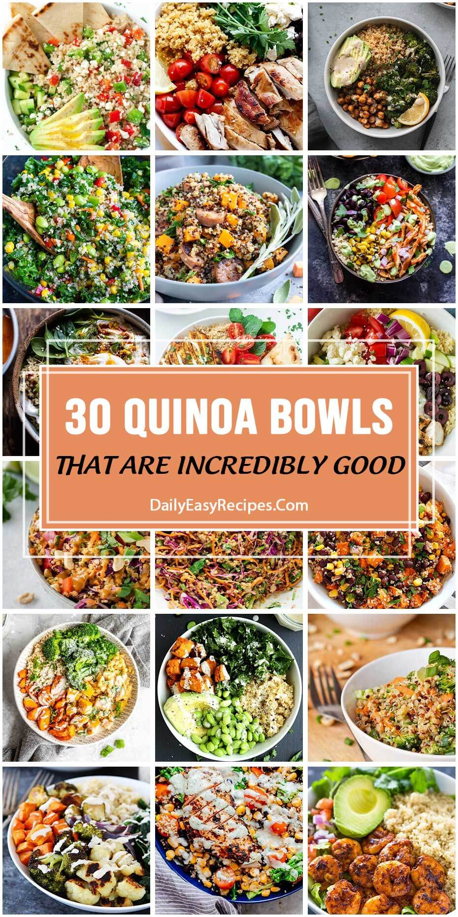30 Quinoa Bowls That Are Incredibly Good