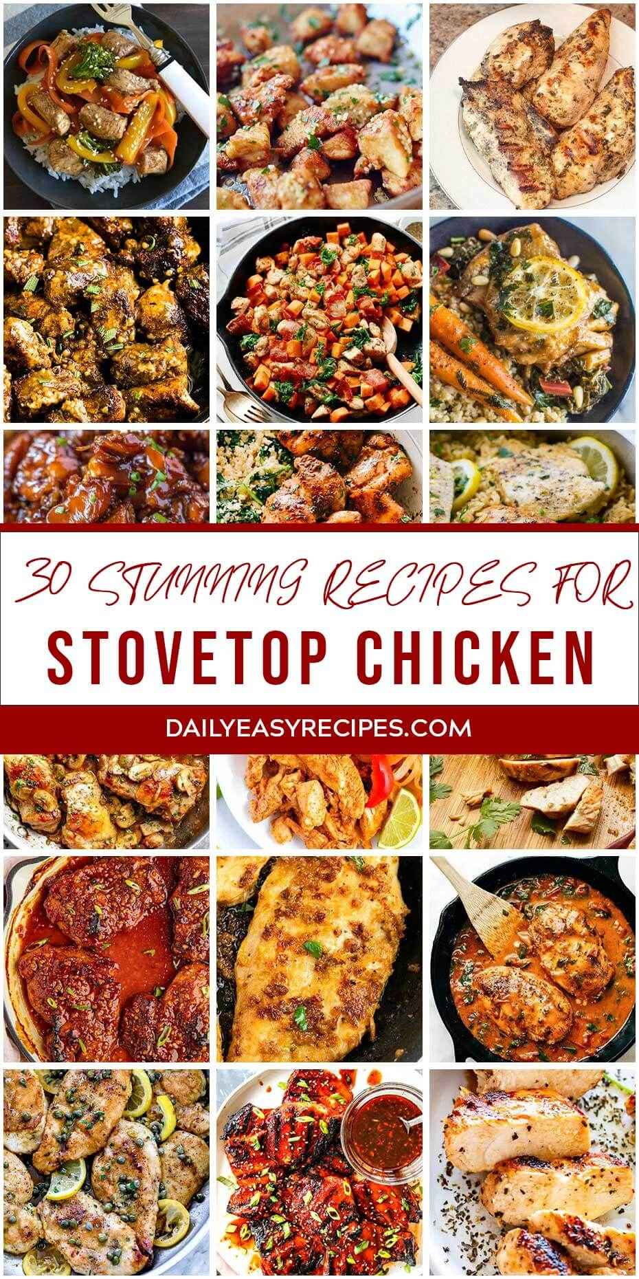 30 Stunning Recipes For Stovetop Chicken