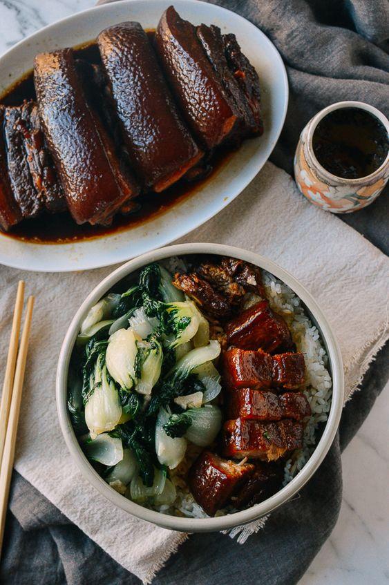 Soy Sauce Braised Instant Pot Pork Belly