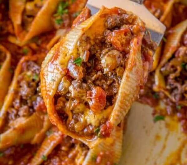 Taco Stuffed Shells
