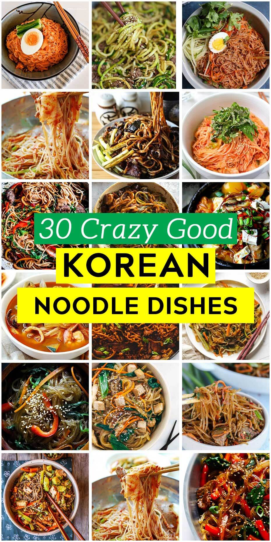 Top 30 Korean Noodle Dishes That You Should Try Once