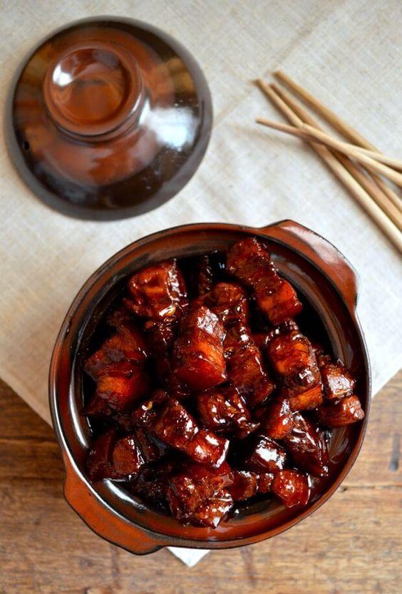 Shanghai-Style Braised Pork Belly