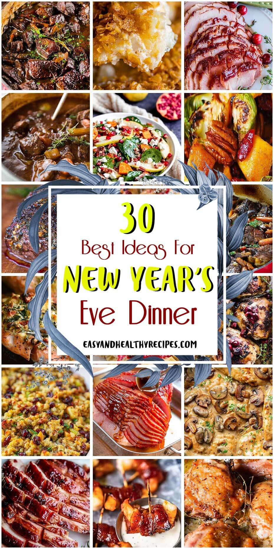 30 Best Ideas For New Year's Eve Dinner – Easy and Healthy ...