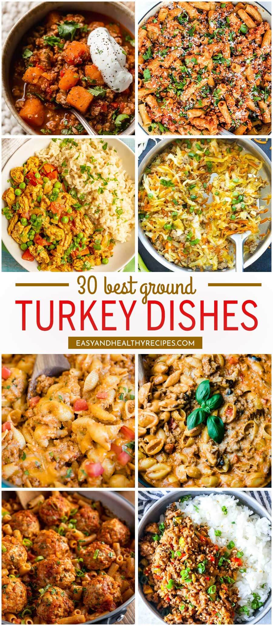 30 Ground Turkey Dishes That No One Can Resist